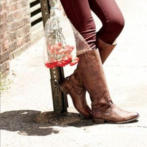 Frye Lindsay Plate tall boots